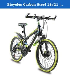 Bicycles Carbon Steel 18/21 speed Absorb-shock Fork Absorption Folding Mountain Bike Duplex Disc Brake Bicycle. Front Fork Type:Spring Fork (Low Gear Non-damping) Gears:21 Speed Gender:Men Frame Material:Steel Load Capacity:150kg Braking System:Front and Rear Wheel V Brake Pedal Type:Ordinary Pedal Frame Type:Hard Frame (Non-rear Damper) Rim Material:Steel Fork Suspension:No Volume:0.03 m3 Fork Material:Steel Type:Mountain Bike Applicable People:Unisex Net Weight:Other Stature:Other Wheel...