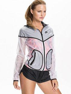 Nike Hyp Windrunner - Nike - White - Jackets And Coats - Sports Fashion - Women - Nelly.com Uk