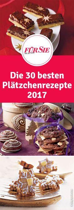 Die 30 besten Plätzchenrezepte 2017