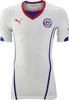 Chile 2014 World Cup Away Shirt (Official) http://brazilsworldcupshirts.co.uk/