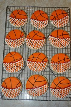 basketball cookies I want some I deserve them my whole team deserves them only one person can't win a game