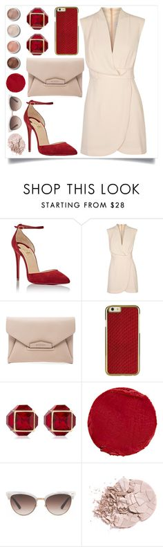 """""""you`ll come back. promise it."""" by rostovskaya-regina on Polyvore featuring мода, Christian Louboutin, Finders Keepers, Givenchy, Vita Fede, Terre Mère, Temptu и Gucci"""