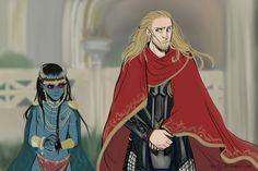 Young Jotun Loki and Thor   via Tumblr by mynerdcave