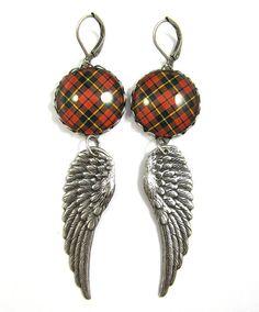 Tartan Jewelry  Ancient Romance Series  Scottish by DivaDesignsInc, $26.50  https://www.etsy.com/listing/186289032/tartan-jewelry-ancient-romance-series?ref=shop_home_active_1