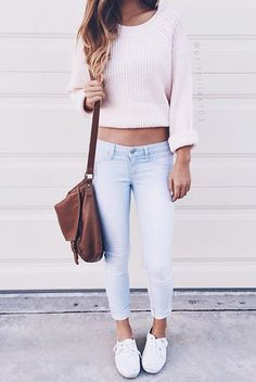 1f6c0e42e63f5 cropped cable knit skinny jeans Jeans And Hoodie