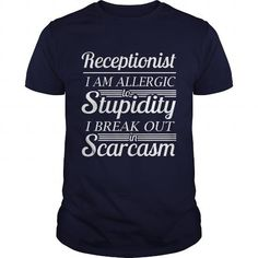 AWESOME TSHIRT AND HOODIE FOR RECEPTIONIST T-SHIRTS, HOODIES, SWEATSHIRT (21.99$ ==► Shopping Now)