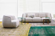 Redondo sofa by Patricia Urquiola for Moroso