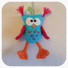 crochet owl - no pattern