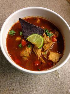 Texas Chicken Tortilla Soup THM S, E or FP