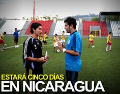 Instructor Del Real Madrid Capacita A Técnicos Del Real Estelí www.futbolnica.net/instructor-del-real-madrid-capacita-a-tecnicos-del-real-esteli