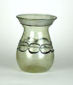 51R Roman Glass Jar, 4th Century