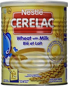 #Nestle cerelac wheat 400g (england) is rich in iron, Vitamins A, C, and B12. This milk powder is highly nutritious for babies from 6 months onwards when breast-...