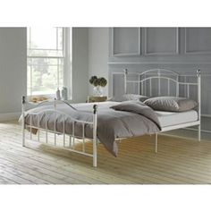 Buy Brynley Kingsize Bed Frame - Ivory at Argos.co.uk, visit Argos.co.uk to shop online for Bed frames