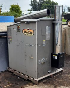 Maxim Outdoor Wood Pellet and/or Corn Furnace Hydronic Heater