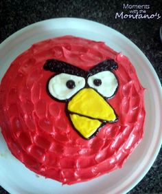The Angry Birds Party was a big hit! I had a pretty ecstatic 5 year old on my hands. Before we get to the party pics, I want. Bird Birthday Parties, Birthday Fun, Birthday Ideas, Birthday Cakes, Cupcakes, Cupcake Cakes, Angry Birds Cake, Wilton Cake Decorating, Bird Party