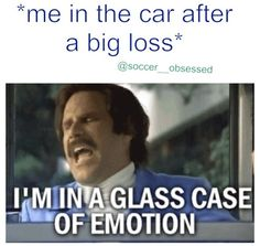 I'm in a glass case of emotion here!