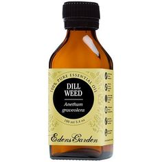 Dill Weed 100% Pure Therapeutic Grade Essential Oil by Edens Garden- 100 ml >>> Awesome product. Click the image : NOW essential oils