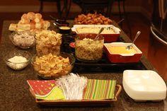 Christmas Party Food santa trays | Lakeside Christmas Party