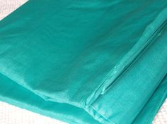 Sheer Fabric Silk Fabric in Sea Blue -  for an overdress/train.