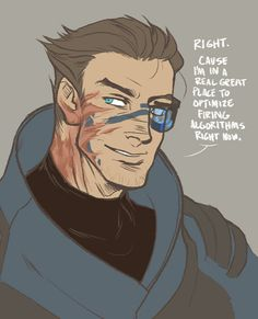 If Garrus is human, will fans still make up wacky genital configurations for him? (answer: yes)