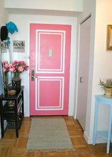 Paint any color on inside of door