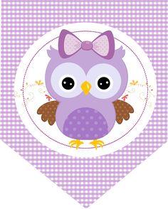 free-printable-purple-owls-kit-017.png (1284×1600)