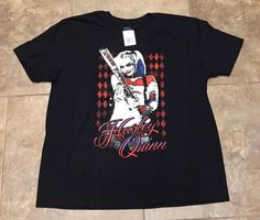 Men's SUICIDE SQUAD Graphic Tee - Size XL NEW WITH TAGS  - Harley Quinn Tee HOT! #SuicideSquad #GraphicTee