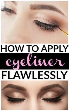 Whether you're trying to learn how to apply eyeliner properly to your top lid, bottom lash line, or your waterline, have small eyes, asian eyes, or really big eyes, prefer pencil, liquid, or gel eyeliners, we've got you covered. We're founded up 7 fabulous step-by-step tutorials to teach you all sorts of makeup tips, tricks, and application techniques, and we've also included a few fabulous product recommendations.