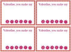 Free printable Starburst Valentines from playpartypin.com #valentines #freeprintables #candy #valentinesday #crafts
