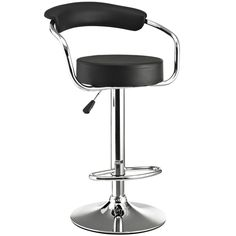 The Diner Bar Stool is a great choice for folks who want supreme comfort in a Bar Stool. Thick cushion greet the user like an old friend, and upholstered back rest invites you to lean back and relax.