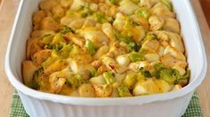 3-Ingredient Chicken and Broccoli Bubble-Up Bake https://www.pillsbury.com/recipes/3-ingredient-chicken-and-broccoli-bubble-up-bake/b90c2719-adf5-48f4-86f7-964529b313cb
