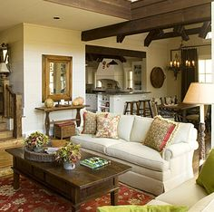 Home d cour living room on pinterest decorating living rooms living rooms and house beautiful Southern home decor on pinterest