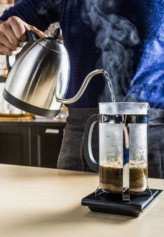 Hack Your Coffee: Here's how to make great coffee with a French Press right … Hack Your Coffee: Here's how to make great coffee with a French Press right now! Hack Your Coffee: Here's how to make great coffee with a French Press right … Coffee Drinkers, Coffee Creamer, Coffee Cups, Great Coffee, Hot Coffee, Coffee Shop, Coffee Coffee, Coffee Wiki, Frozen Coffee