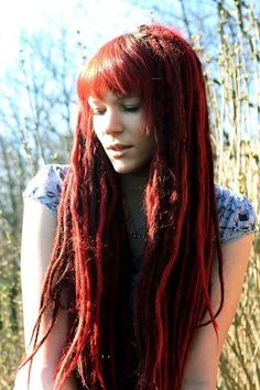 Image result for dreads with bangs