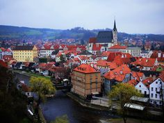 Chesky krumlov... Czech. ONe of the cutest cities ever. Loved, loved, loved.