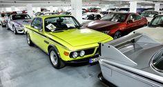 Join our tour of BMW's secret storage lair   Classic Driver Magazine