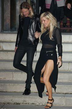 Ellie Goulding & Douge Poynter at Versace