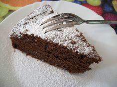 Torta di ricotta con cioccolato fondente e mandorle