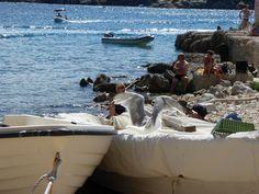 """""""La Conchiglia""""(Ristorante), I.S.Nicola, Isole Tremiti Pugli Italia (Luglio)"""