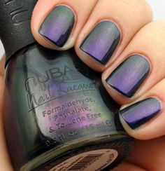 Nubar Peacock Feathers, I LOVE this color! Need for my toes!!!