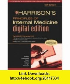 Harrisons Principles of Internal Medicine, 16/e Digital Edition (9780071445542) Dennis L. Kasper, Eugene Braunwald, Stephen Hauser, Dan Longo, J. Larry Jameson, Anthony S. Fauci , ISBN-10: 0071445544  , ISBN-13: 978-0071445542 ,  , tutorials , pdf , ebook , torrent , downloads , rapidshare , filesonic , hotfile , megaupload , fileserve