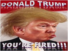 DONALD TRUMP -  YOU'RE FIRED!!!