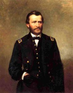 Union General Ulysses S. Grant - civil war, and later president of the united states