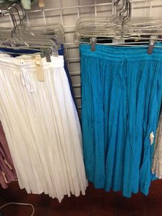 Broomstick skirts on sale at The Mini Boutique at Del Sol Tularosa.