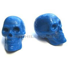 Beadbrain Skull Rhythm Shaker Pair - Blue by BEADBRAIN. $9.50. Fun shape, pro soundThis pair of skull shakers is perfect for zesting up a stage show or just entertaining in the house. Ideal for parties and special occasions. The brightly colored design is sure to stand out.