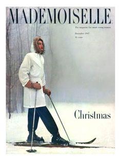 Mademoiselle December 1947, photo George Barkentin