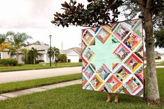 a little gray: Scrappy Strings Quilt