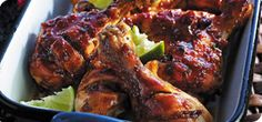 There's no need to travel to the Caribbean when you can serve this fruity, tangy and exotic Jamaican chicken in your kitchen.