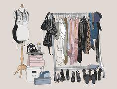 nice wardrobe