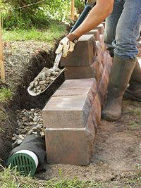 Build Landscape and Retaining Walls and Keep Them in Tip-Top Shape. #bhg